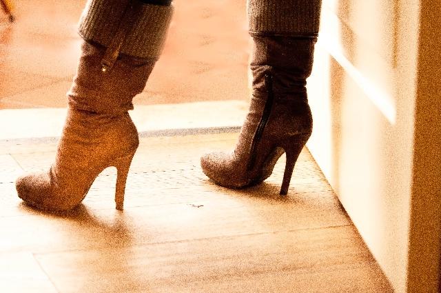 ブーツ臭い