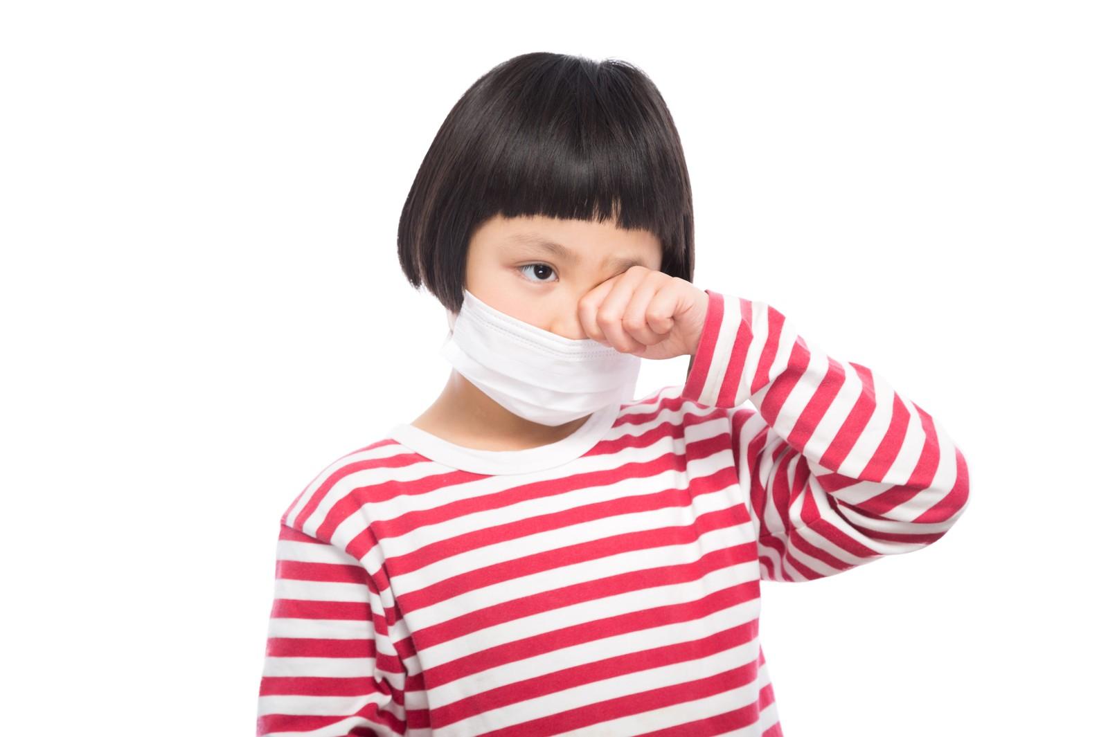 花粉症子ども目のかゆみ