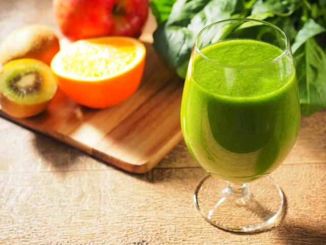 野菜ジュース効果肌