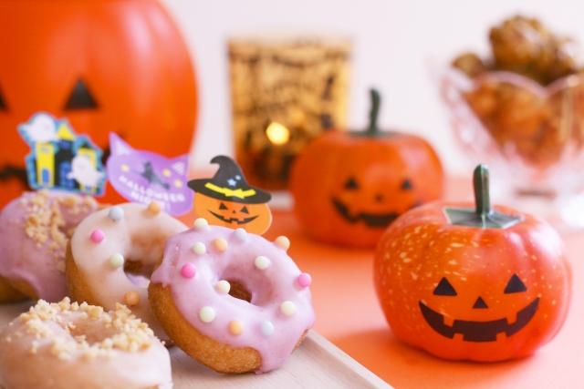 ハロウィン手作りお菓子かぼちゃ