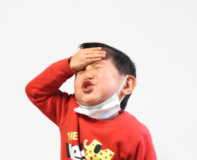 インフルエンザ解熱後発熱